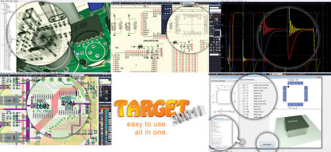 TARGET 3001! The electronics CAD software - Don´t miss the easter ...
