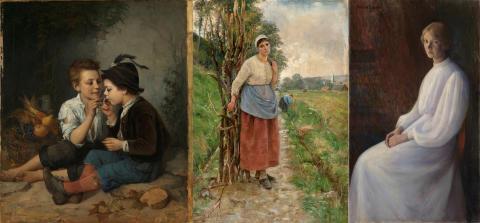 Nasjonalmuseet styrker samlingen med norske kvinnelige kunstnere fra 1800-tallet
