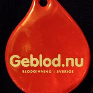 Ericsson Globe lyser röd på Alla hjärtans dag