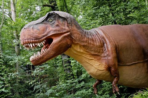 Dinosaurier årets nyhet i Parken Zoo