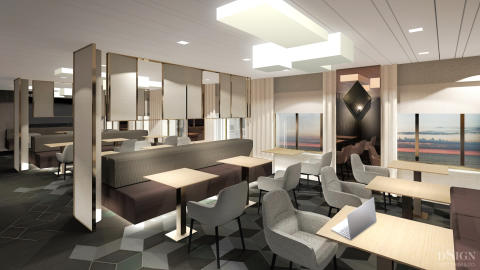 Tallink Silja Megastar| Business Lounge 1