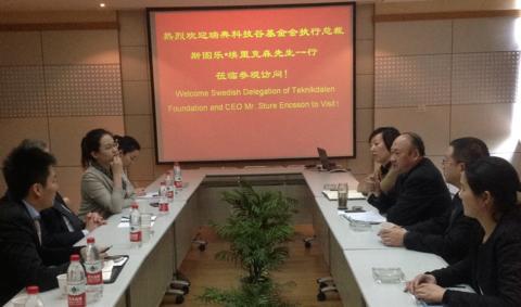 Aktivt nätverkande i Wuhan