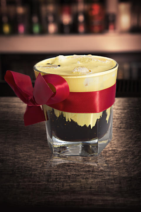 Drink: Captain's Black Snowball