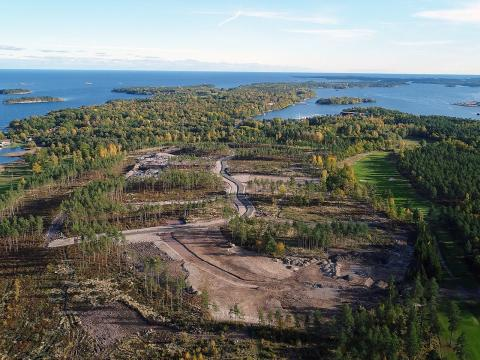 OBOS bygger 20 golf- och havsnära hus i Västervik