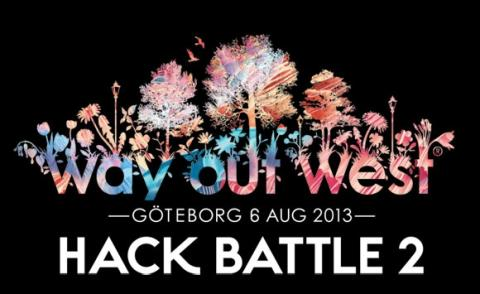 Parlophone Music i Norden, Sony, Spotify og Luger  præsenterer Way Out West Hack Battle 'Wowhack'