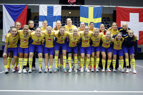 Perfekt VM-genrep när damlandslaget vann Euro Floorball Tour