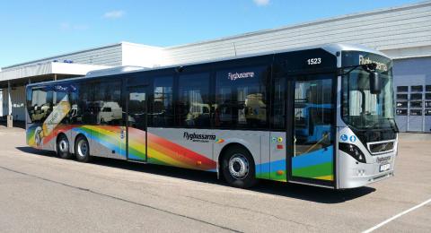 Flygbussarna i Göteborg utökar tidtabellen