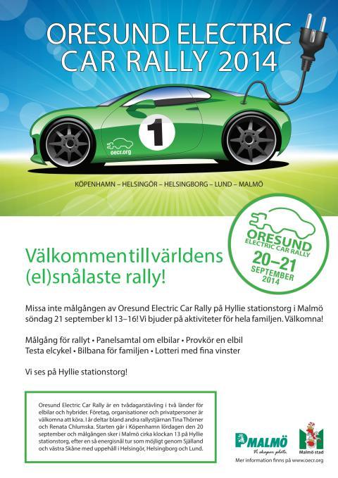 Affisch OECR 2014 Hyllie