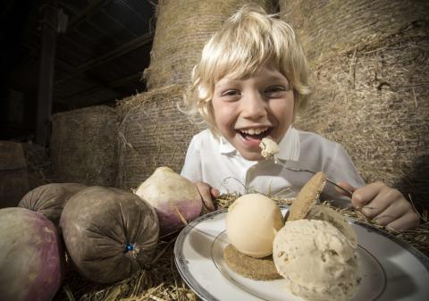 Haggis ice cream and neeps sorbet to debut at Galloway Country Fair