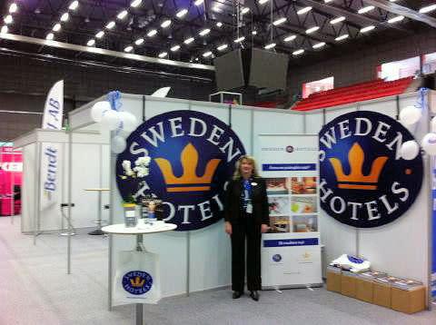 Sweden Hotels på Tillväxtdagen i Halland - i Halmstad