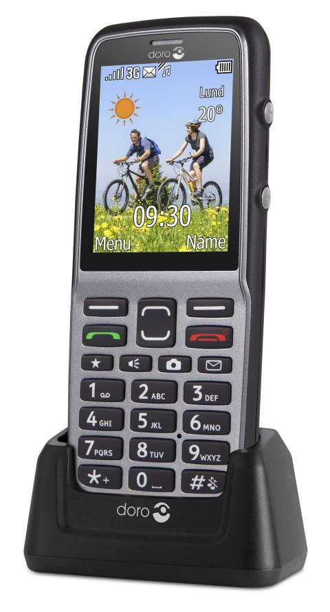 Ny enkel Doro-mobil håller för regn och smuts