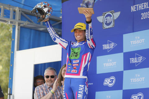 Kenichi Kuroyama Takes to Podium in 2nd with TY-E at First Round of FIM Trial-E Cup