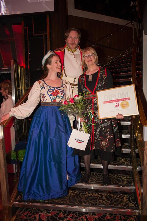 Årets Kulturmappie 2016 Inger Hallström Stinnerbom