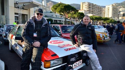Uheld stod i vejen for topplacering til Audi-mandskabet i årets Rallye Monte-Carlo
