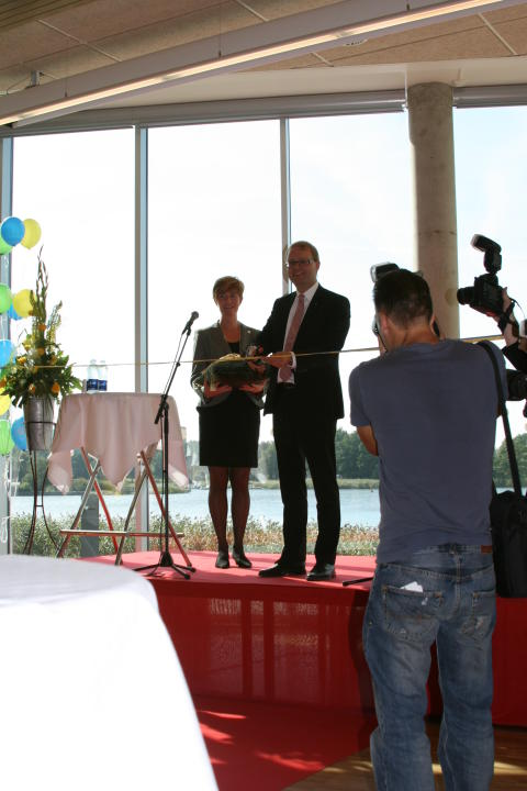 Invigning av huvudcampus i Karlskrona