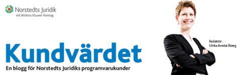 Norstedts Juridik startar blogg knuten till tidningen Kundvärdet