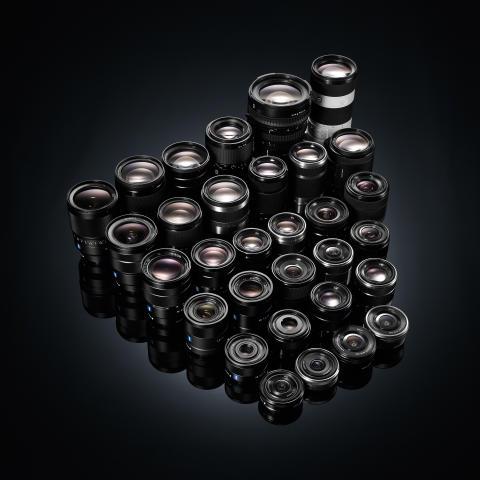 E-mount lenses