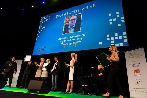 Kenneth Malmberg är Bästa Centrumchef 2016