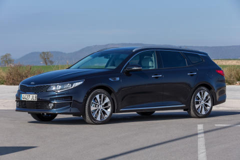 Premiere for Kia Optima Stasjonsvogn