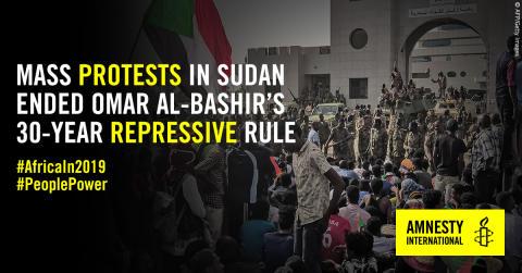 Amnestys Årsrapport 2019, Afrika: Väpnade konflikter och förtryck från stater skapar grogrund för kränkningar av mänskliga rättigheter