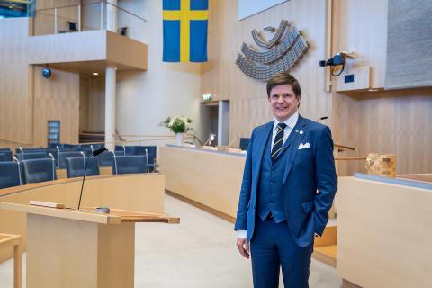 Pressinbjudan: Talman Andreas Norlén besöker Dalarna och firar Demokratin 100 år