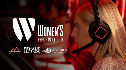 Women's Esports League-finalerna kommer hållas i Skellefteå på festivalen Nordsken.