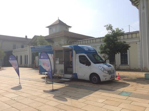 Beratungsmobil der Unabhängigen Patientenberatung kommt am 28. August nach Nordhausen.