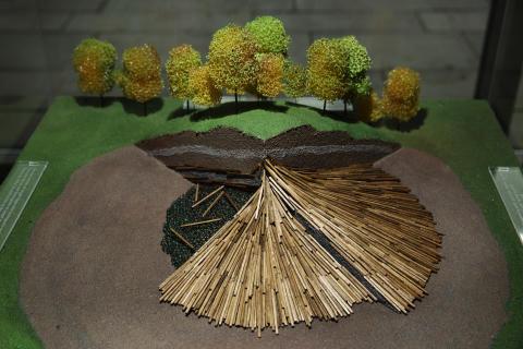 Modell av Raknehaugen