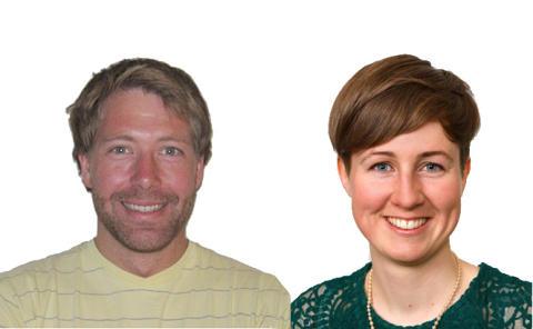 Andrea og Morten fra Norconsult nominert til finale i internasjonal ingeniørkonkurranse