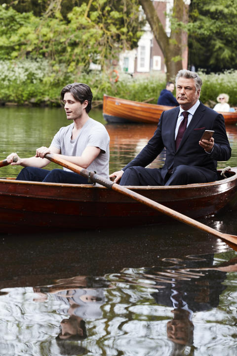 Alec Baldwin stars in ads for BT mobile