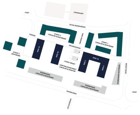 Tornstaden bygger fler hyresrätter för Wallenstam i Sundbyberg
