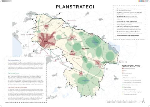 Strategikarta förslag till ny översiktsplan