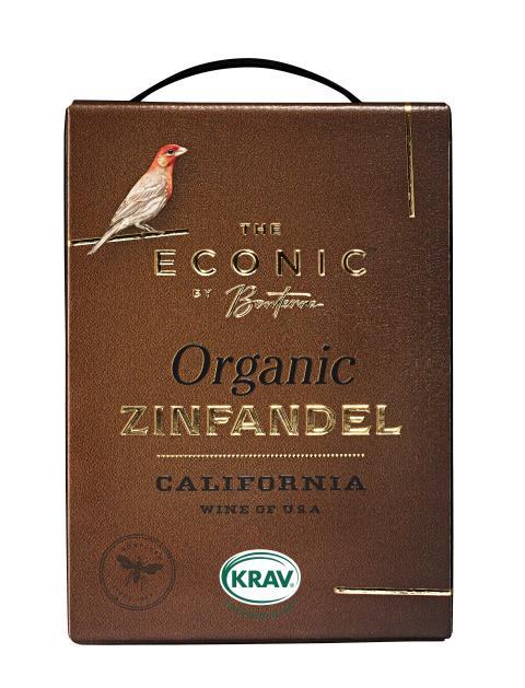 The Econic Zinfandel - Nu KRAV-märkt