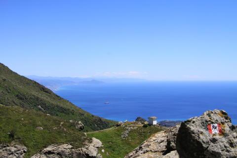 Panorama Küste Ligurien