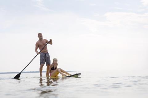 Snabbt växande vattensport på Allt för sjön