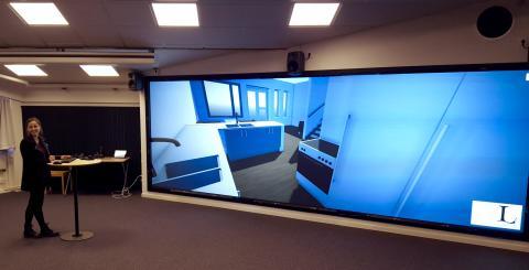 Välkomna på pressvisning av Luleå tekniska universitets nya VR-studio