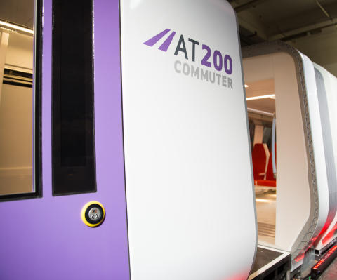 Hitachi Rail Europe launches new train design heralding the future of commuter travel