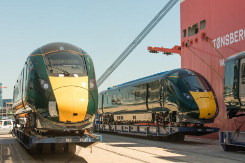 First new intercity train for Devon and Cornwall arrives in the UK