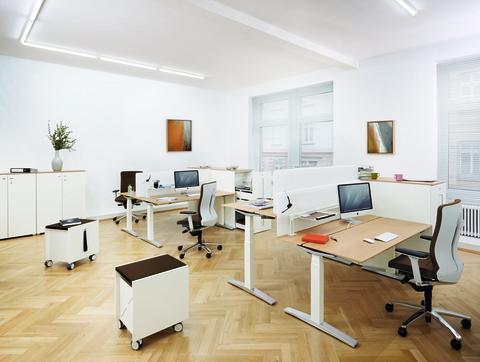 Büromöbelproduktion weiter im Aufwärtstrend