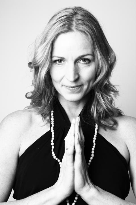 Pernilla Cristvall, arrangör av Yoga för dig
