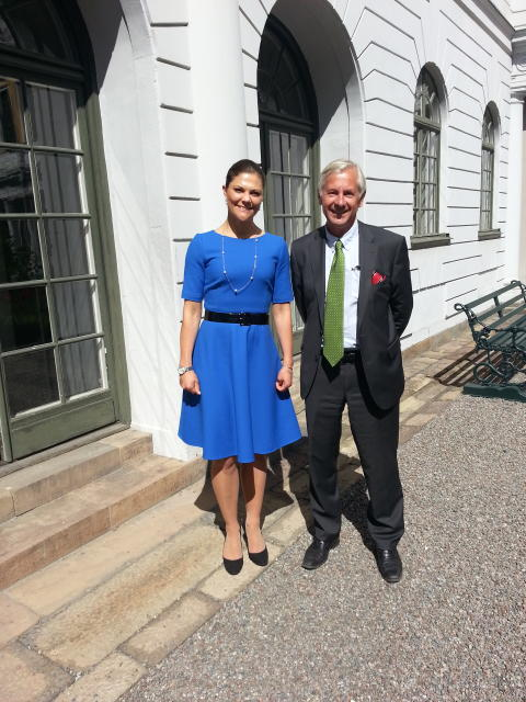 Kronprinsessan Victoria och Östersjön
