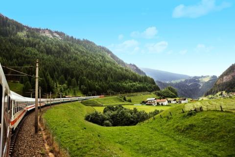 Tågchartern fyller fem år: Tågcharter till Garda och Bardolino