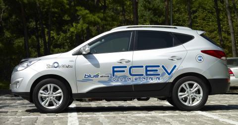 Hyundai ix35 hydrogen-elektrisk II
