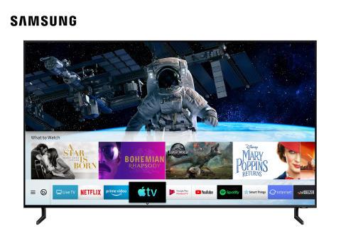 Samsung bliver den første TV-producent der lancerer Apple TV-app og Airplay 2