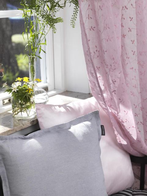 Curtain Marigona, Cushion Stockholm, Cushion Silva