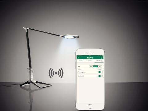 App kontrolleret smart LED lampe_Leitz Style