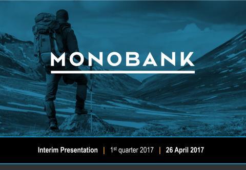 Monobank ASA Q1 2017 Presentation