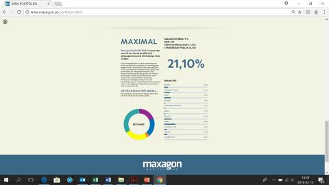 Maxagon Kapital AB: Maximal och Mellan - All time high!
