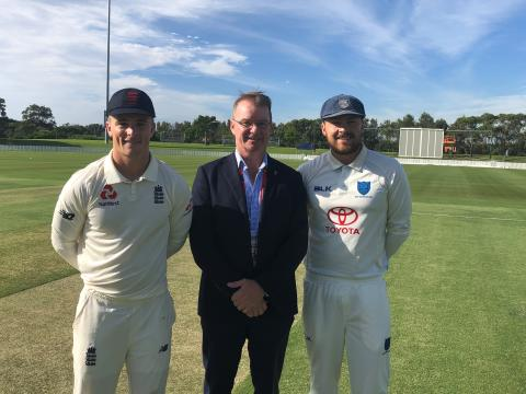 Late breakthroughs help England Lions restrict NSW XI in Wollongong