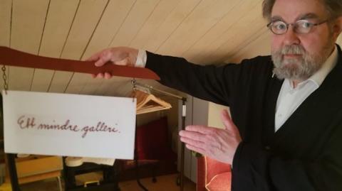 Vernissage på nytt galleri och jazzkonsert i Spannarboda
